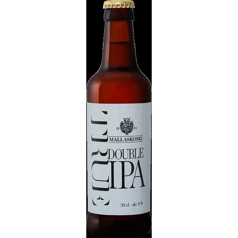 Пиво светлое нефильтрованное неосветленное Малласкоски Тру Дабл ИПА , 265₽